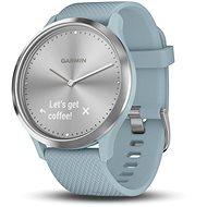 Garmin vívomove HR Sport Silver Seafoam (veľkosť S/M) - Smart hodinky
