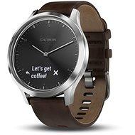 Garmin vívomove HR Premium Silver (veľkosť L) - Smart hodinky