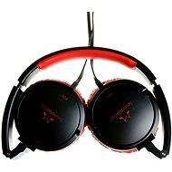 SoundMAGIC P21 čierno-červená - Slúchadlá