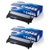 Samsung CLT-C404S azúrový 2 ks