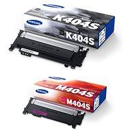 Samsung CLT-K404S čierny + CLT-M404S purpurový
