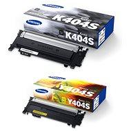 Samsung CLT-K404S čierny + CLT-Y404S žltý