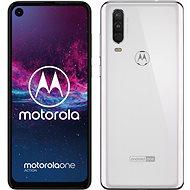 Motorola One Action biela