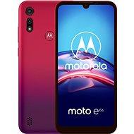 Motorola Moto E6s 32 GB Dual SIM červený - Mobilný telefón