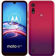 Motorola Moto E6s Plus 64 GB Dual SIM červený - Mobilný telefón