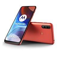 Motorola Moto E7 Power červená - Mobilný telefón