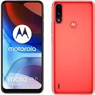 Motorola Moto E7i Power červený - Mobilný telefón