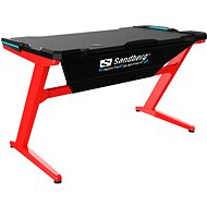 Sandberg Fighter Gaming Desk - Herný stôl