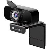 Sandberg USB Chat Webcam 1080P HD, čierna - Webkamera