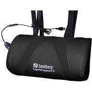 Sandberg Herný USB masážny vankúš čierny - Masážna poduška