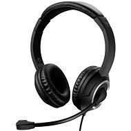 Sandberg MiniJack Chat Headset s mikrofónom, čierne - Slúchadlá