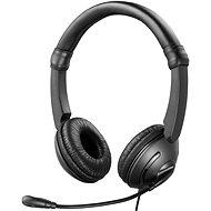 Sandberg MiniJack SAVER headset s mikrofónom, čierne - Slúchadlá