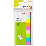 STICK´N 50 × 12 mm, neónový a pastelový mix, 9 × 50 lístkov