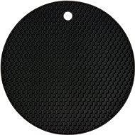 FALA Podložka pod horúcu kanvicu silikónová čierna