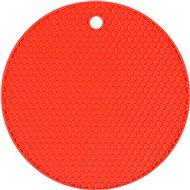 FALA Podložka pod horúcu kanvicu silikónová červená