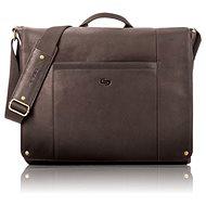 "Solo Hudson Leather Messenger Espresso 16"" - Taška na notebook"