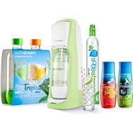 SodaStream Jet Grass Green Tropical Edition Ostrov 2 + 2 - Súprava