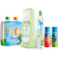 SodaStream Jet Grass Green Tropical Edition Prales 2 + 2 - Súprava