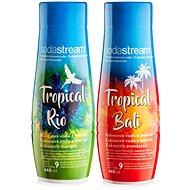 SodaStream Príchuť Tropical Edition Ananás-Kokos a Mango-Kokos - Súprava