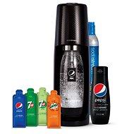 Sodastream Spirit Black Pepsi MegaPack - Výrobník sódy