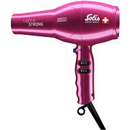 Solis Light & Strong, ružový - Fén na vlasy