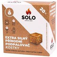 SOLO Podpaľovač extra silný kocky – 20 ks - Podpaľovač