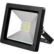 LED vonkajší reflektor SLIM, 30 W, 2 100 lm, 3 000 K, čierny