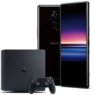 Sony Xperia 1 čierna + PlayStation 4 Fortnite - Mobilný telefón
