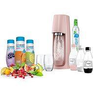 SodaStream SPIRIT Ružový Ladys Pack - Výrobník sódy