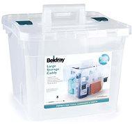 Beldray priehľadný úložný box, 38 l
