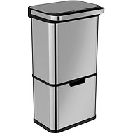 Home Contactless Waste Bin with Ozoniser 60L (36 + 24L) - Waste Bin
