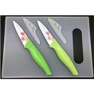 SOVIO sada 2 nožov + lopárik SV-N02PST tul.