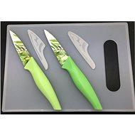 SOVIO sada 2 nožov + lopárik SV-N02PSB bam.