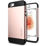 SPIGEN Slim Armor Rose Gold iPhone SE/5S/5 - Kryt na mobil