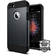 SPIGEN Tough Armor Metal Slate iPhone SE/5s/5 - Kryt na mobil