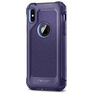 Spigen Signature Tough Armor Purple iPhone X - Kryt na mobil