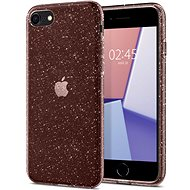 Spigen Liquid Crystal Glitter Rose Crystal iPhone 7/8/SE 2020 - Ochranný kryt
