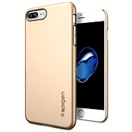 Spigen Thin Fit Champagne Gold iPhone 7 Plus - Kryt na mobil