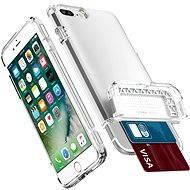 Spigen Flip Armor Satin Silver iPhone 7 Plus - Ochranný kryt