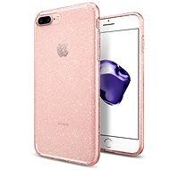 Spigen Liquid Crystal Glitter Rose Quartz iPhone 7 Plus/8 Plus - Ochranný kryt