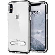 Spigen Crystal Hybrid Black iPhone X - Ochranný kryt
