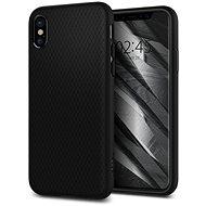 Spigen Liquid Air Black iPhone X - Ochranný kryt