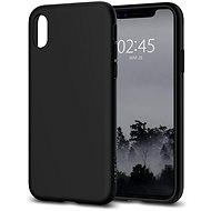 Spigen Liquid Crystal Matte Black iPhone X - Ochranný kryt