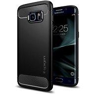 SPIGEN Rugged Armor Black Samsung Galaxy S7 Edge - Ochranný kryt