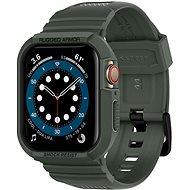 Spigen Rugged Armor Pro Green Apple Watch SE/7/6/5/4 44 mm