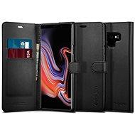 Spigen Wallet S Black Samsung Galaxy Note 9 - Kryt na mobil
