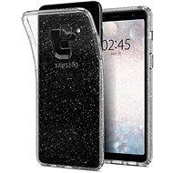 Spigen Liquid Crystal Glitter Crystal Samsung Galaxy A8 (2018) - Ochranný kryt