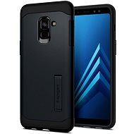 Spigen Slim Armor Metal Slate Samsung Galaxy A8 (2018) - Ochranný kryt