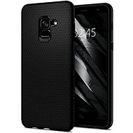 Spigen Liquid Air Matte Black Samsung Galaxy A8+ (2018) - Ochranný kryt
