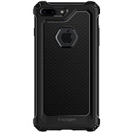 Spigen Rugged Armor Extra Black iPhone 7 Plus/8 Plus - Ochranný kryt